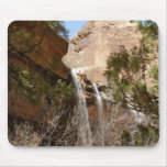 Emerald Pool Falls I from Zion National Park Mouse Pad