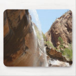 Emerald Pool Falls II from Zion National Park Mouse Pad