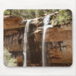 Emerald Pool Falls IV from Zion National Park Utah Mouse Pad