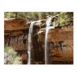 Emerald Pool Falls IV from Zion National Park Utah Postcard