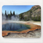 Emerald Pool in Yellowstone National Park Mouse Pads
