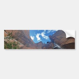 Emerald pools  Weeping Rock Zion National Park Bumper Sticker