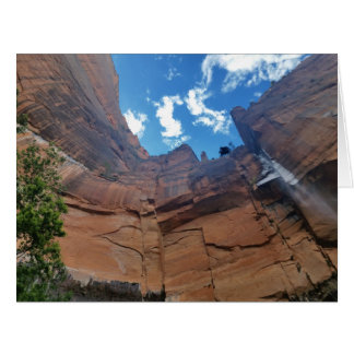 Emerald pools  Weeping Rock Zion National Park Card