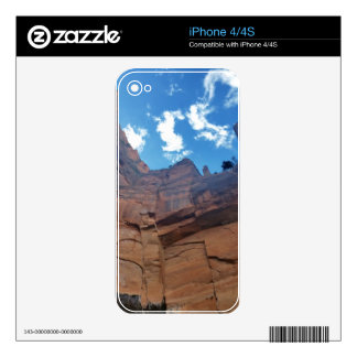 Emerald pools  Weeping Rock Zion National Park iPhone 4S Decal