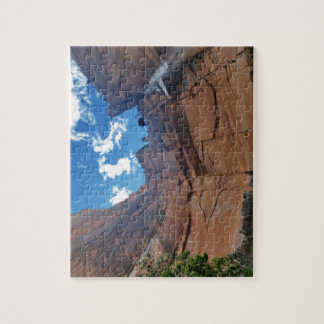 Emerald pools Weeping Rock Zion National Park Jigsaw Puzzle
