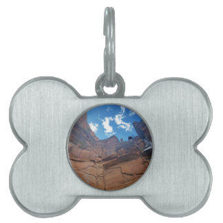 Emerald pools Weeping Rock Zion National Park Pet ID Tag