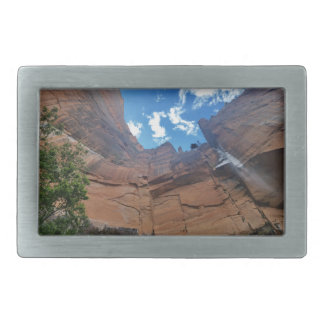 Emerald pools Weeping Rock Zion National Park Rectangular Belt Buckle
