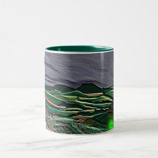 Emerald Relief mug