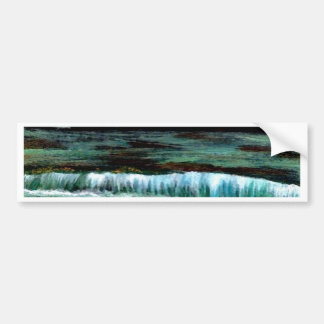 Emerald Sea - CricketDiane Ocean Art Products Bumper Sticker