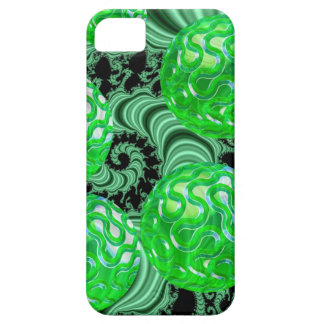 Emerald Sea Forest, Abstract Green Ocean iPhone 5 Cover