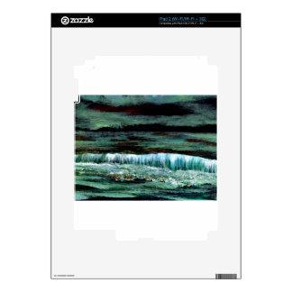 Emerald Sea Ocean Waves Seascape Beach Decor Skins For The iPad 2