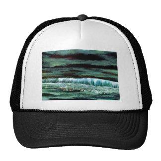 Emerald Sea Ocean Waves Seascape Beach Decor Trucker Hat