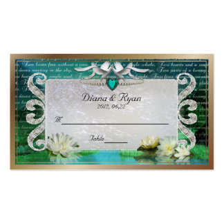 Emerald Sea Place Card