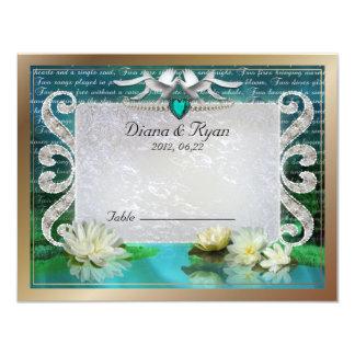 Emerald Sea Table Card