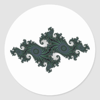 Emerald Seahorse Julia Stickers