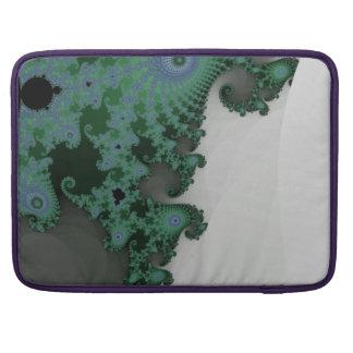 Emerald Seahorse MacBook Pro Sleeve