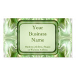 Emerald Shamrock Cross Double-Sided Standard Business Cards (Pack Of 100)