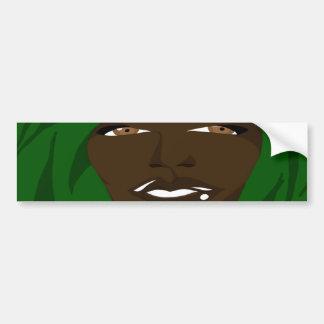 Emerald Shawl 2(Sketchbook Pro) Bumper Sticker