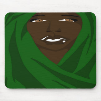 Emerald Shawl 2(Sketchbook Pro) Mouse Pad
