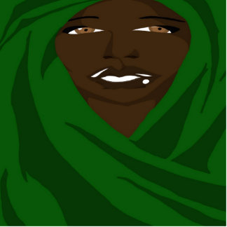 Emerald Shawl 2(Sketchbook Pro) Acrylic Cut Outs