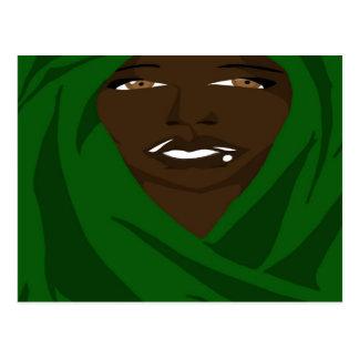 Emerald Shawl 2(Sketchbook Pro) Postcard