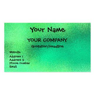 Emerald Sparkle - business card template