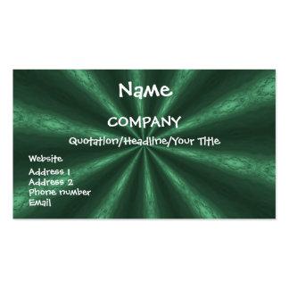 Emerald Star - business card template