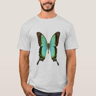 Emerald-swallowtail butterfly, t-shirt