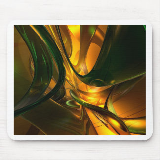Emerald Swirl Mouse Pad