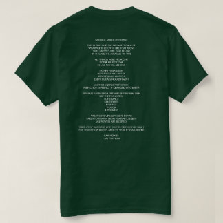 EMERALD TABLET OF HERMES [FREEMAN TRANSLATION] T-Shirt