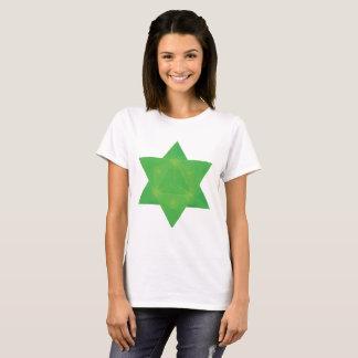 Emerald Tablets Inspired Star of David Merkaba T-Shirt