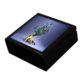 Emerald Tree Trinket Box