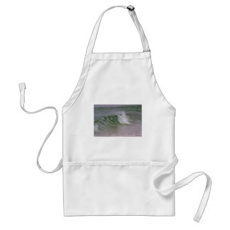 Emerald Water & Beach Wave Adult Apron