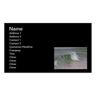 Emerald Water & Beach Wave Business Card