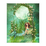 Emerald Waters Gallery Wrapped Canvas