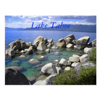 Emerald Waters Lake Tahoe Postcard