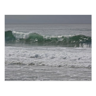 Emerald Waves Postcard