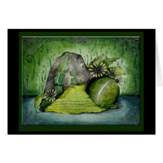 Emerald Wedding Anniversary: Jupigio-Artwork.com Greeting Card