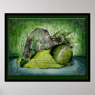 Emerald Wedding Anniversary: Jupigio-Artwork.com Print