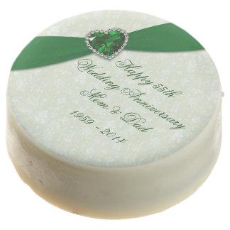 Emerald Wedding Anniversary Oreo Cookies Chocolate Covered Oreo