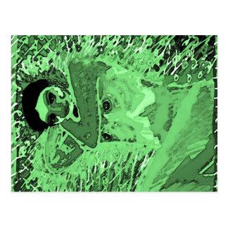 EmeraldGreen PRIYAPIA and TATIANA Postcard