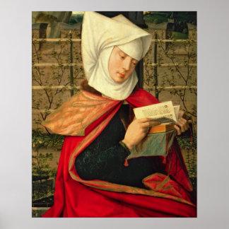 Emerency la madre de St Anne el panel de la e Posters