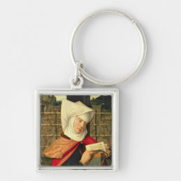 Emerency, the mother of St. Anne, panel from the e Keychain