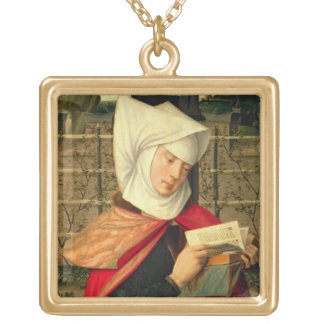Emerency, the mother of St. Anne, panel from the e Necklaces