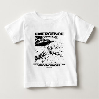 Emergence Complex Pattern Formation From Simpler T Shirt