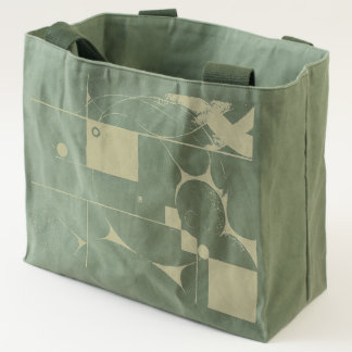 Emergence Geometric Abstract Tote