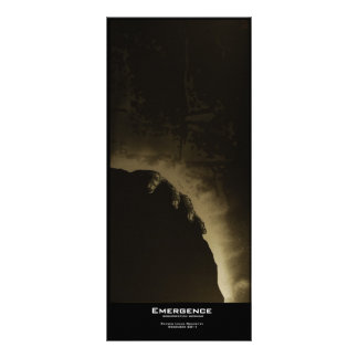 """Emergence"" Value Bookmark Customized Rack Card"