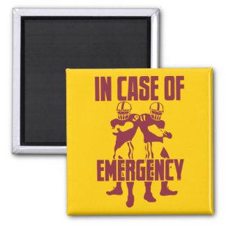 Emergencia 911 imán cuadrado