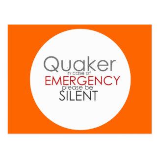 Emergencia del Quaker Postales
