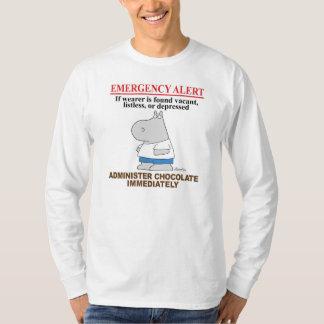 EMERGENCY ALERT CHOCOLATE by Boynton T-Shirt
